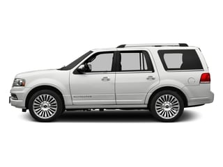 White Platinum Metallic Tri-Coat 2016 Lincoln Navigator Pictures Navigator Utility 4D Reserve 2WD V6 Turbo photos side view