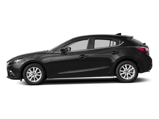 Jet Black Mica 2016 Mazda Mazda3 Pictures Mazda3 Wagon 5D i GT I4 photos side view