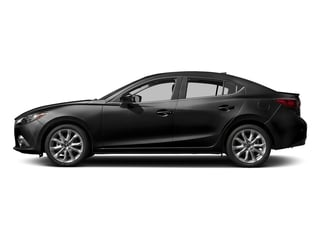 Jet Black Mica 2016 Mazda Mazda3 Pictures Mazda3 Sedan 4D s Touring I4 photos side view