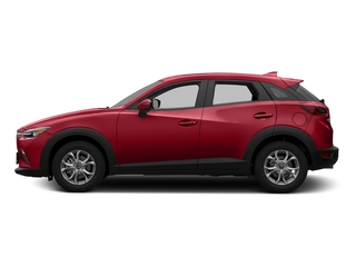 Soul Red Metallic 2016 Mazda CX-3 Pictures CX-3 Utility 4D Touring AWD I4 photos side view