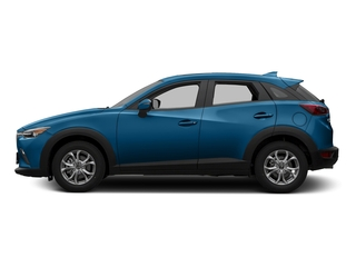 Dynamic Blue Mica 2016 Mazda CX-3 Pictures CX-3 Utility 4D Touring AWD I4 photos side view
