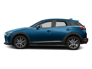 Dynamic Blue Mica 2016 Mazda CX-3 Pictures CX-3 Utility 4D GT AWD I4 photos side view