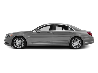 designo Magno Alanite Gray (Matte Finish) 2016 Mercedes-Benz S-Class Pictures S-Class Sedan 4D S600 V12 Turbo photos side view