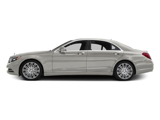 designo Magno Cashmere White (Matte Finish) 2016 Mercedes-Benz S-Class Pictures S-Class Sedan 4D S600 V12 Turbo photos side view