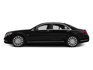 Obsidian Black Metallic 2016 Mercedes-Benz S-Class Pictures S-Class Sedan 4D S600 V12 Turbo photos side view