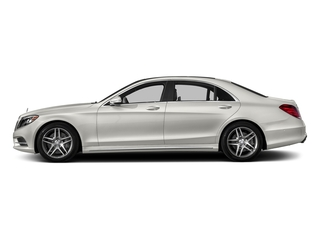 designo Magno Cashmere White (Matte Finish) 2016 Mercedes-Benz S-Class Pictures S-Class Sedan 4D S550 AWD V8 Turbo photos side view