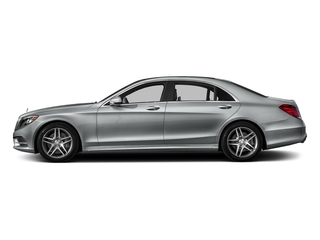 Iridium Silver Metallic 2016 Mercedes-Benz S-Class Pictures S-Class Sedan 4D S550 AWD V8 Turbo photos side view