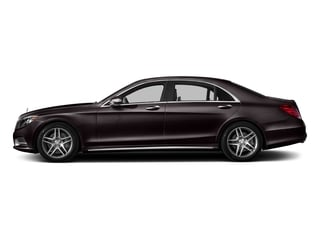 Ruby Black Metallic 2016 Mercedes-Benz S-Class Pictures S-Class Sedan 4D S550 V8 Turbo photos side view