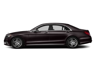 Ruby Black Metallic 2016 Mercedes-Benz S-Class Pictures S-Class Sedan 4D S550 AWD V8 Turbo photos side view