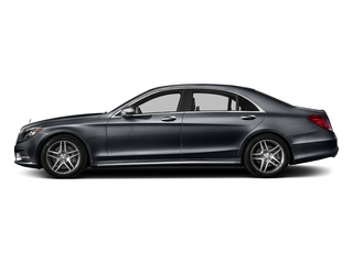 Anthracite Blue Metallic 2016 Mercedes-Benz S-Class Pictures S-Class Sedan 4D S550 V8 Turbo photos side view