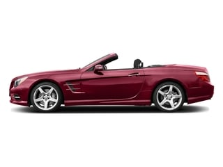 designo Cardinal Red Metallic 2016 Mercedes-Benz SL Pictures SL Roadster 2D SL550 V8 Turbo photos side view