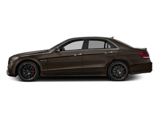 Dolomite Brown Metallic 2016 Mercedes-Benz E-Class Pictures E-Class Sedan 4D E63 AMG S AWD V8 Turbo photos side view