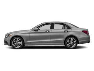 Palladium Silver Metallic 2016 Mercedes-Benz C-Class Pictures C-Class Sedan 4D C300 AWD I4 Turbo photos side view