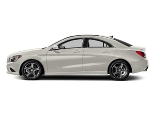 Cirrus White 2016 Mercedes-Benz CLA Pictures CLA Sedan 4D CLA250 AWD I4 Turbo photos side view