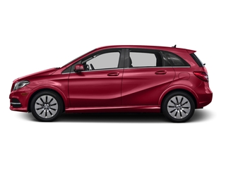Jupiter Red 2016 Mercedes-Benz B-Class Pictures B-Class Hatchback 5D Electric Drive photos side view