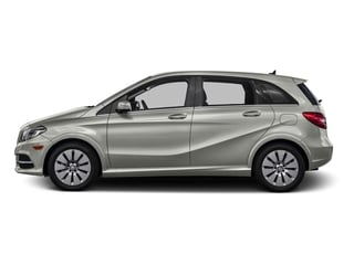 Polar Silver Metallic 2016 Mercedes-Benz B-Class Pictures B-Class Hatchback 5D Electric Drive photos side view