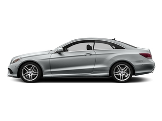 Iridium Silver Metallic 2016 Mercedes-Benz E-Class Pictures E-Class Coupe 2D E400 V6 Turbo photos side view