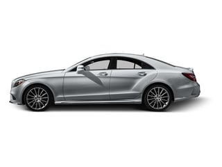 Diamond Silver Metallic 2016 Mercedes-Benz CLS Pictures CLS Sedan 4D CLS400 AWD V6 Turbo photos side view