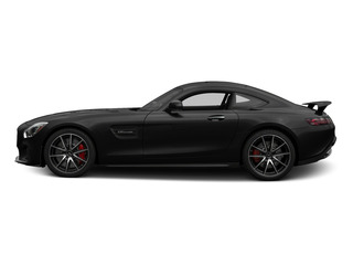 Magnetite Black Metallic 2016 Mercedes-Benz AMG GT Pictures AMG GT S 2 Door Coupe photos side view