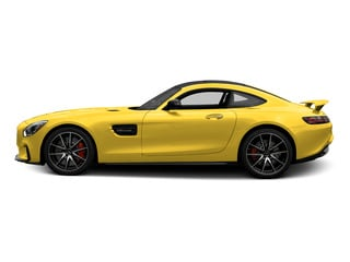AMG Solarbeam Yellow 2016 Mercedes-Benz AMG GT Pictures AMG GT S 2 Door Coupe photos side view