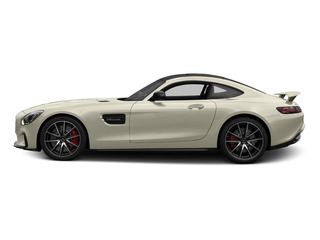 designo Diamond White Metallic 2016 Mercedes-Benz AMG GT Pictures AMG GT S 2 Door Coupe photos side view