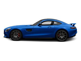 Brilliant Blue 2016 Mercedes-Benz AMG GT Pictures AMG GT S 2 Door Coupe photos side view
