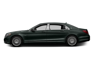 Emerald Green Metallic 2016 Mercedes-Benz S-Class Pictures S-Class Sedan 4D S600 Maybach V12 Turbo photos side view