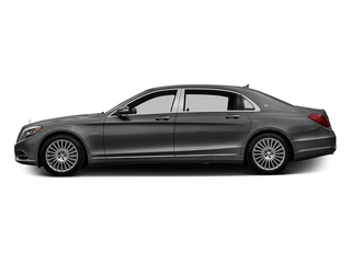 Selenite Grey Metallic 2016 Mercedes-Benz S-Class Pictures S-Class Sedan 4D S600 Maybach V12 Turbo photos side view