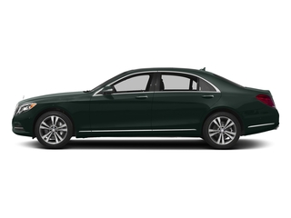 Emerald Green Metallic 2016 Mercedes-Benz S-Class Pictures S-Class Sedan 4D S550e V6 Turbo photos side view