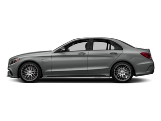 Palladium Silver Metallic 2016 Mercedes-Benz C-Class Pictures C-Class Sedan 4D C63 AMG V8 Turbo photos side view