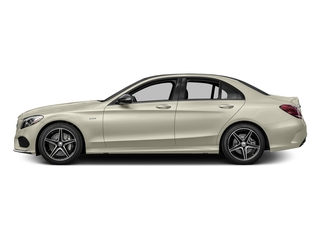 Diamond White Metallic 2016 Mercedes-Benz C-Class Pictures C-Class Sedan 4D C450 Sport AMG AWD V6 Turbo photos side view