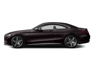 Ruby Black Metallic 2016 Mercedes-Benz S-Class Pictures S-Class Coupe 2D S63 AMG AWD V8 Turbo photos side view