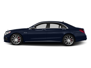 Lunar Blue Metallic 2016 Mercedes-Benz S-Class Pictures S-Class Sedan 4D S63 AMG AWD V8 Turbo photos side view