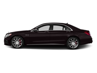 Ruby Black Metallic 2016 Mercedes-Benz S-Class Pictures S-Class Sedan 4D S63 AMG AWD V8 Turbo photos side view