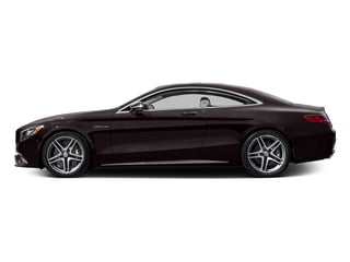 Ruby Black Metallic 2016 Mercedes-Benz S-Class Pictures S-Class 2 Door Coupe Rear Wheel Drive photos side view