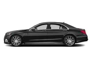Black 2016 Mercedes-Benz S-Class Pictures S-Class 4 Door Sedan Rear Wheel Drive photos side view