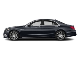 Anthracite Blue Metallic 2016 Mercedes-Benz S-Class Pictures S-Class 4 Door Sedan Rear Wheel Drive photos side view