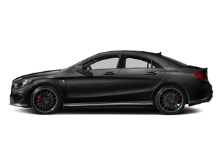 Night Black 2016 Mercedes-Benz CLA Pictures CLA Sedan 4D CLA45 AMG AWD I4 Turbo photos side view