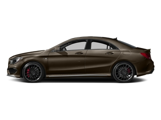 Cocoa Brown Metallic 2016 Mercedes-Benz CLA Pictures CLA Sedan 4D CLA45 AMG AWD I4 Turbo photos side view
