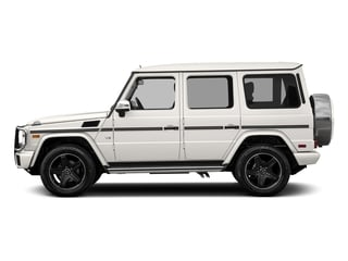 designo Mystic White Metallic 2016 Mercedes-Benz G-Class Pictures G-Class 4 Door Utility 4Matic photos side view