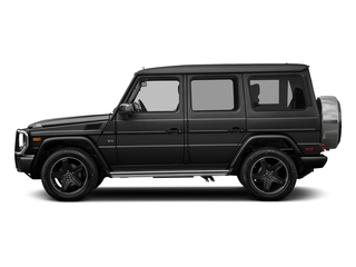 Obsidian Black Metallic 2016 Mercedes-Benz G-Class Pictures G-Class 4 Door Utility 4Matic photos side view