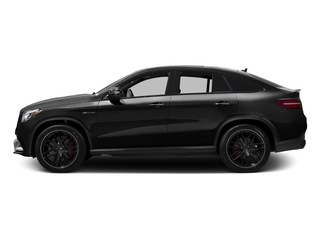 Obsidian Black Metallic 2016 Mercedes-Benz GLE Pictures GLE Utility 4D GLE63 AMG S Sport Cpe AWD photos side view