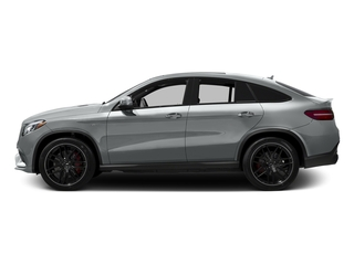 Iridium Silver Metallic 2016 Mercedes-Benz GLE Pictures GLE Utility 4D GLE63 AMG S Sport Cpe AWD photos side view