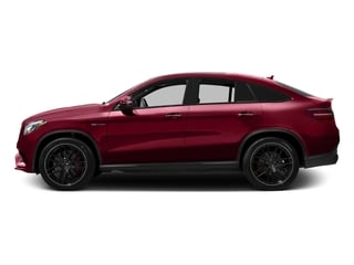 designo Cardinal Red Metallic 2016 Mercedes-Benz GLE Pictures GLE Utility 4D GLE63 AMG S Sport Cpe AWD photos side view