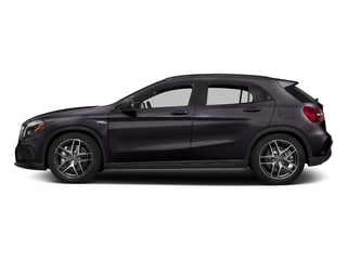 Northern Lights Violet Metallic 2016 Mercedes-Benz GLA Pictures GLA Utility 4D GLA45 AMG AWD I4 Turbo photos side view