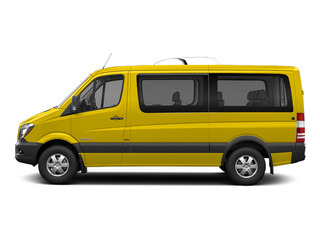 Broom Yellow 2016 Mercedes-Benz Sprinter Passenger Vans Pictures Sprinter Passenger Vans Passenger Van photos side view