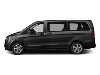 Obsidian Black Metallic 2016 Mercedes-Benz Metris Passenger Van Pictures Metris Passenger Van Passenger Van photos side view