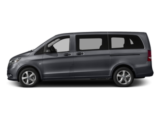 Flint Gray Metallic 2016 Mercedes-Benz Metris Passenger Van Pictures Metris Passenger Van Passenger Van photos side view