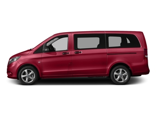 Jupiter Red 2016 Mercedes-Benz Metris Passenger Van Pictures Metris Passenger Van Passenger Van photos side view