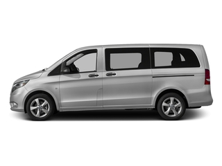 Brilliant Silver Metallic 2016 Mercedes-Benz Metris Passenger Van Pictures Metris Passenger Van Passenger Van photos side view